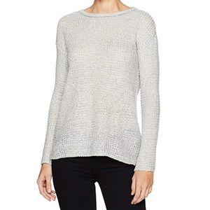 BB Dakota Gray Tierney Marled Yarn Sweater